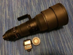 Nikkor 400/2.8 + Nikon SU-800