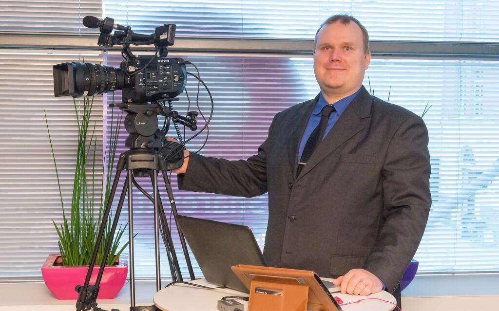 Christian Valtanen Siilin sijoittajatapahtumassa 5.4.2016